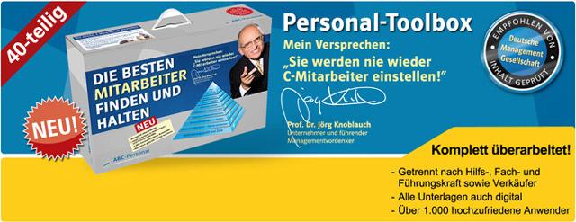 Holen Sie sich hier die Personal-Toolbox von Prof. Dr. Jörg Knoblauch!